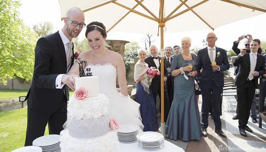 Bruidstaart Danielle & Rob Sugarlips Cakes