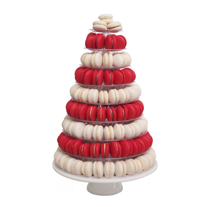 Macaron Tower || Sugarlips Cakes || www.SugarlipsCakes.com